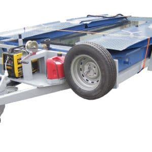 要とするあらゆる場所にトレーラーで簡単に移動・配備できるモバイルシステム
